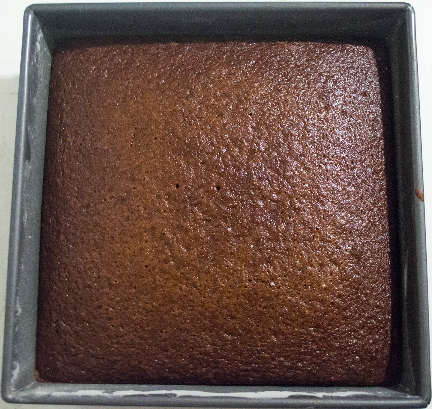 Gingerbread in a Square Pan