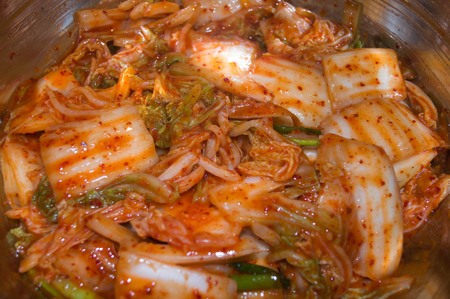 Simple Cabbage Kimchi