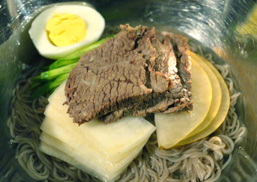 Cold Noodles in Broth - Naengmyeon