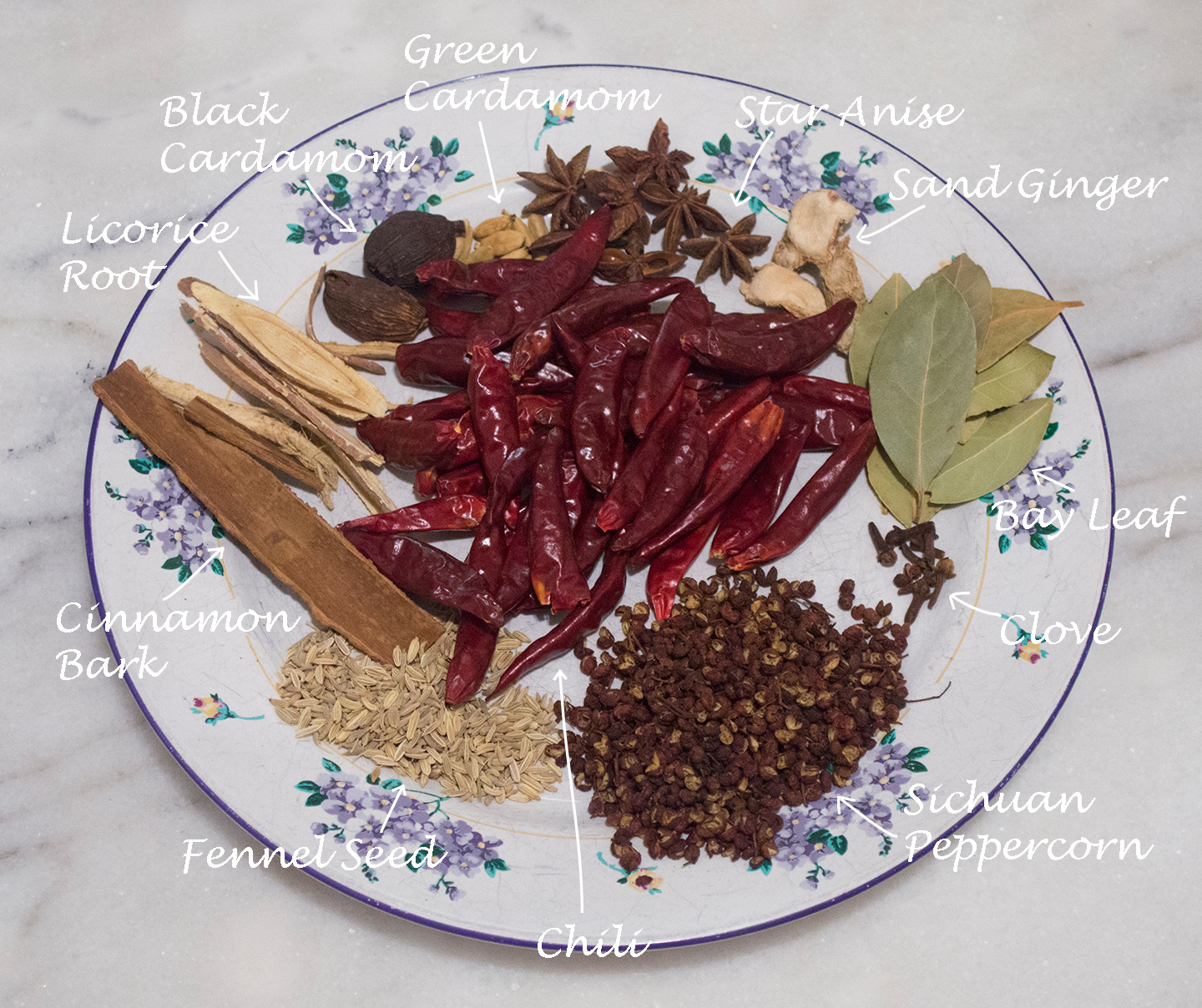 Spicy Hotpot - Spice Chart