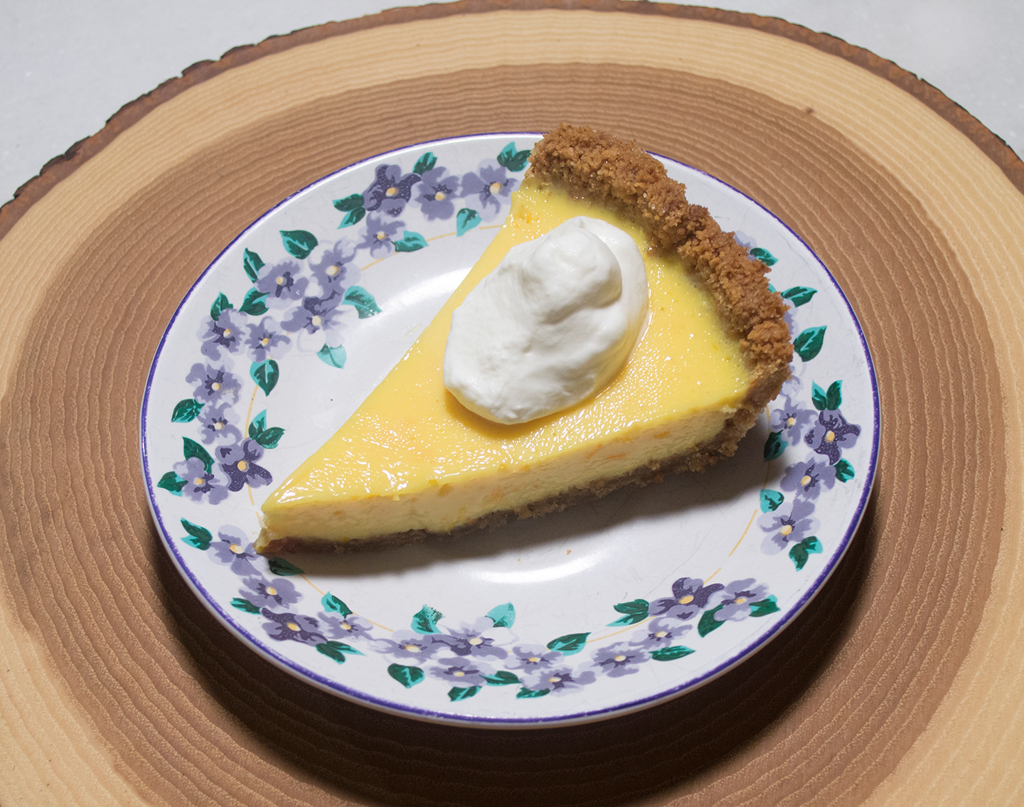 Slice Satsuma Pie