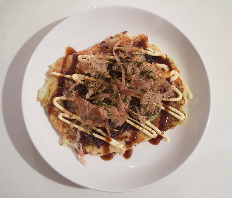 Okonomiyaki (お好み焼き) - Japanese Savory Pancake