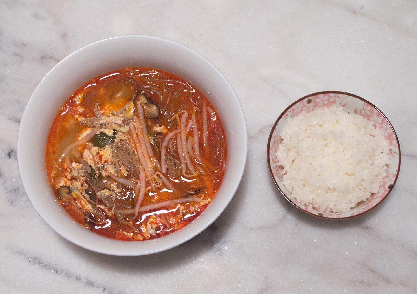 Yukgaejang (육개장) - Spicy Beef Brisket Soup with Vegetables
