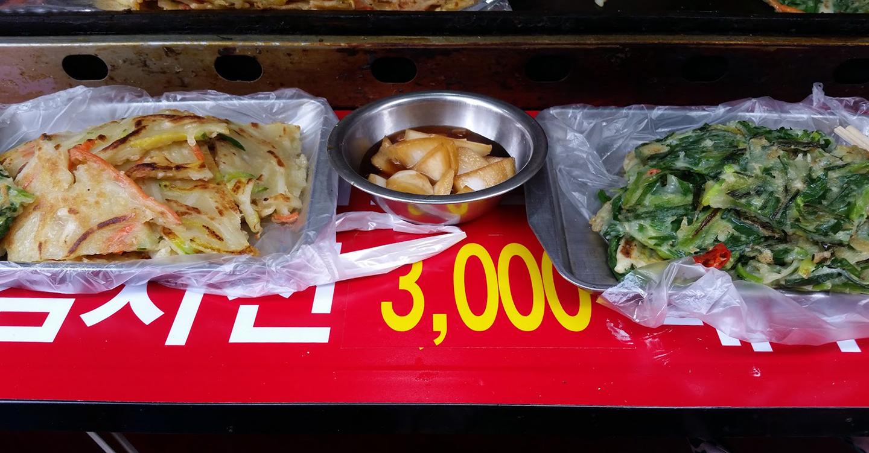 Korea Trip - Dongdaemun Jeon Lunch