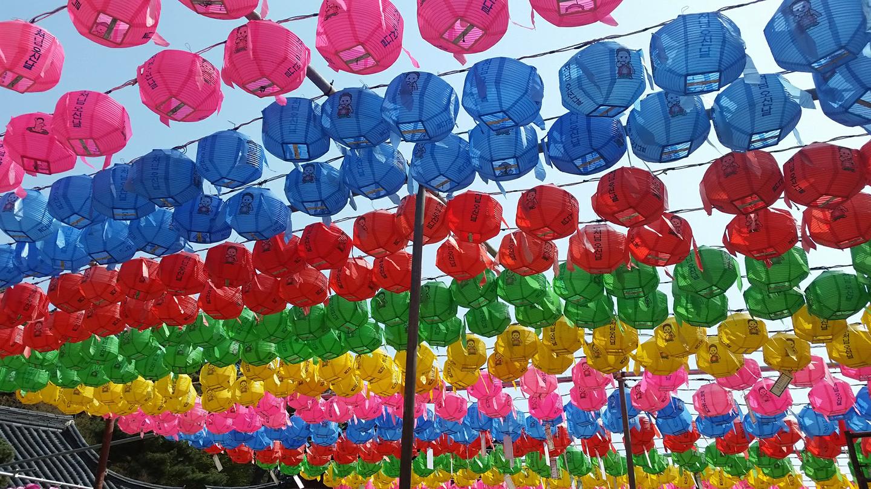 Jeondeungsa - Buddha Day