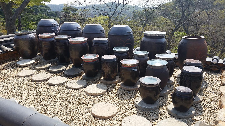 Korea Trip - Jeondeungsa Food Jars
