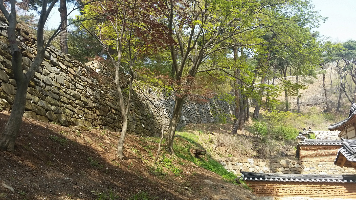Korea Trip - Fortress Wall
