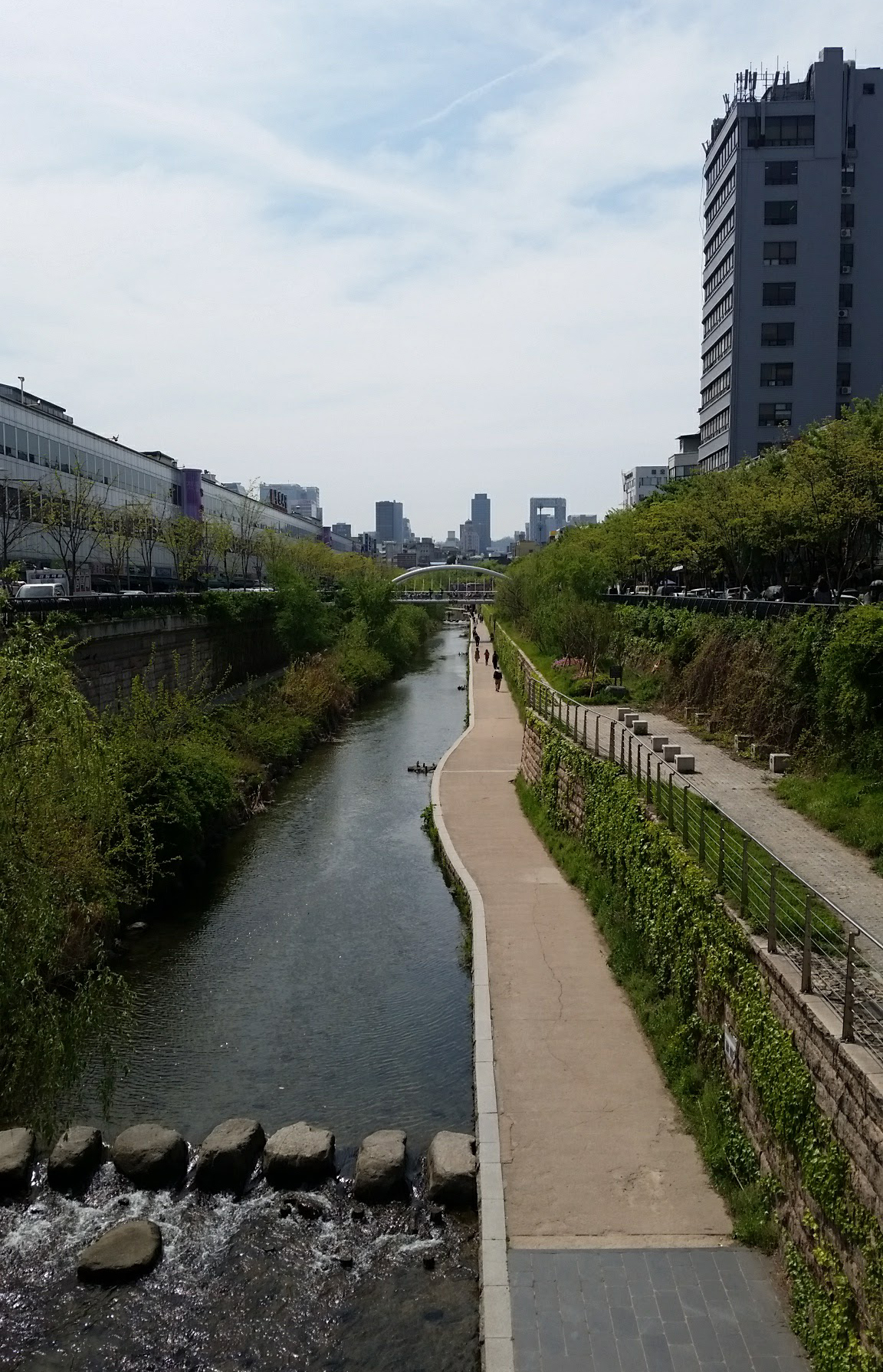 Korea Trip - Cheonggyecheon