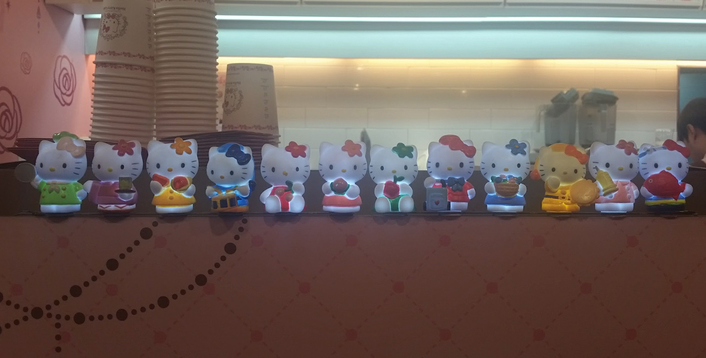 Korea Trip - Myeongdong Hello Kitty Cafe1