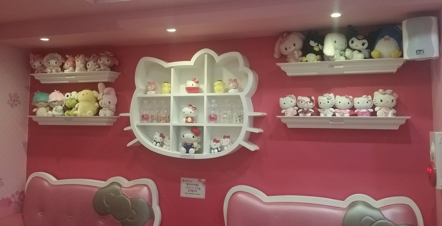 Korea Trip - Myeongdong Hello Kitty Cafe5