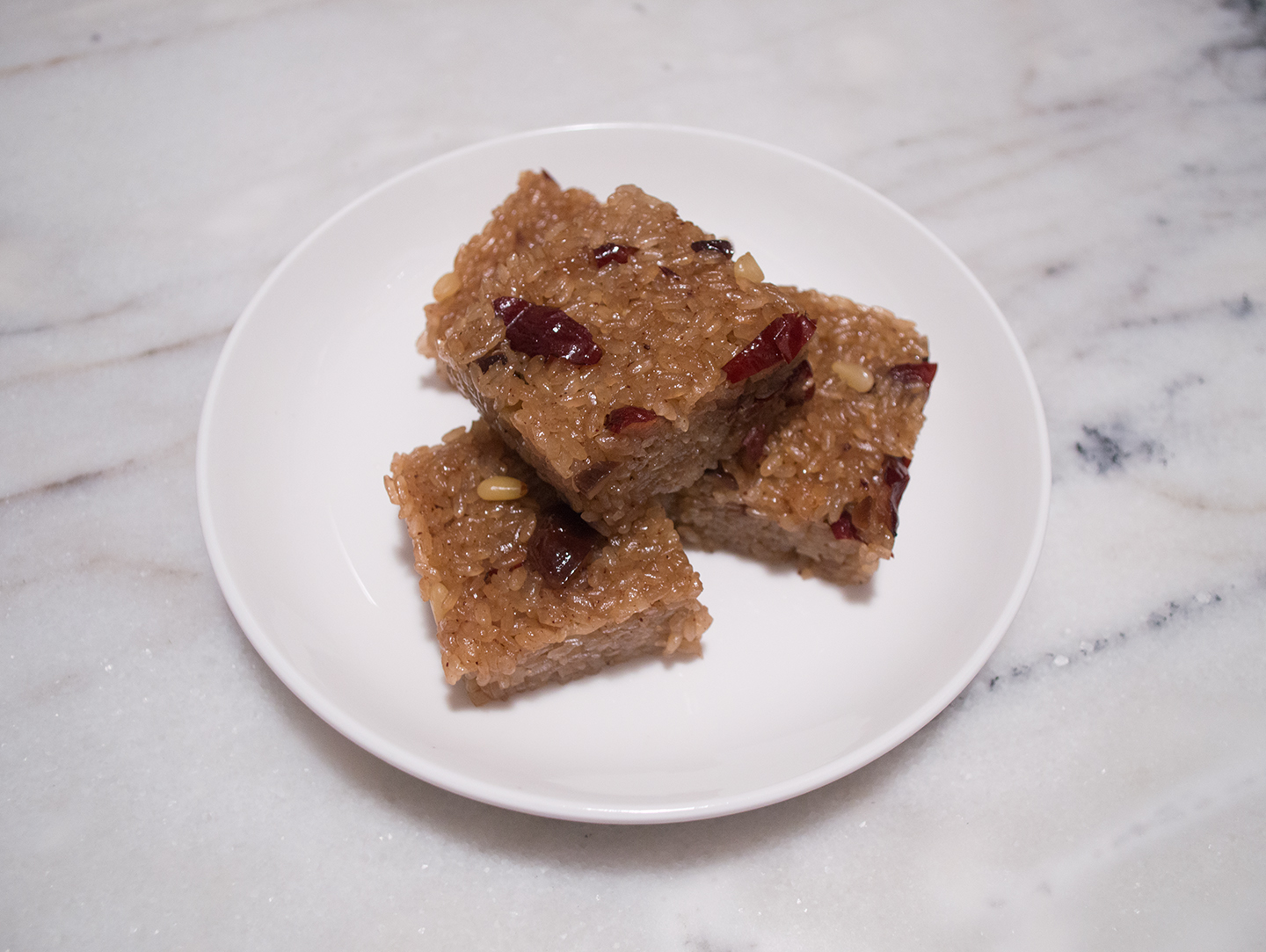 Yaksik (약식) – Glutinous Rice Cake with Dried Fruits and Nuts