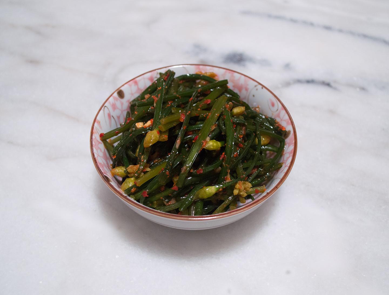 Buchu Kimchi (부추김치) - Garlic Chives Kimchi
