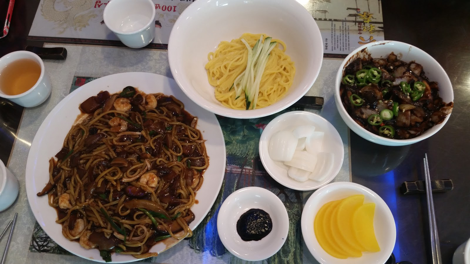 Incheon Chinatown - Gonghwachun Jjajangmyeon