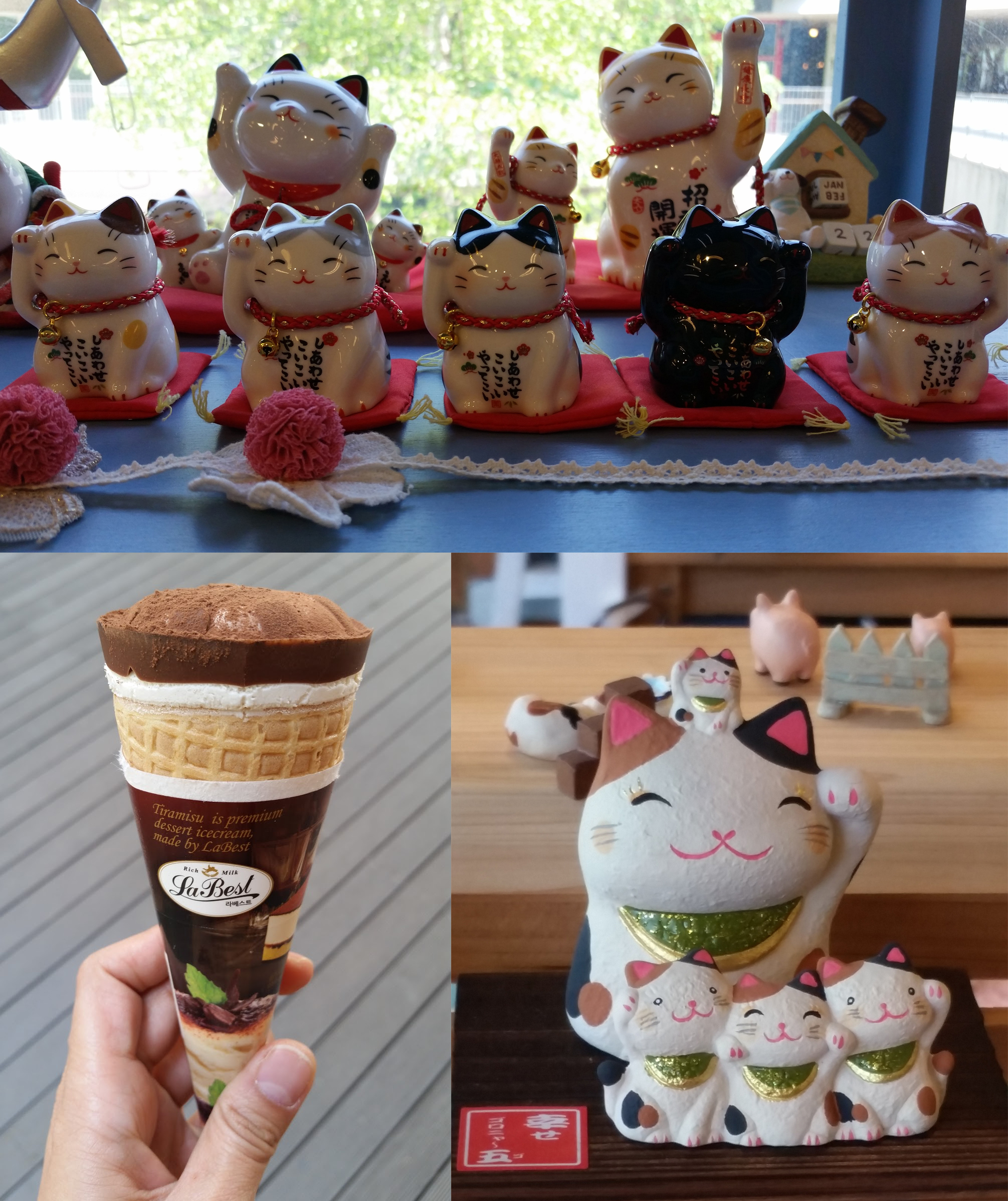 Paju - Heyri Lucky Cats and Ice Cream
