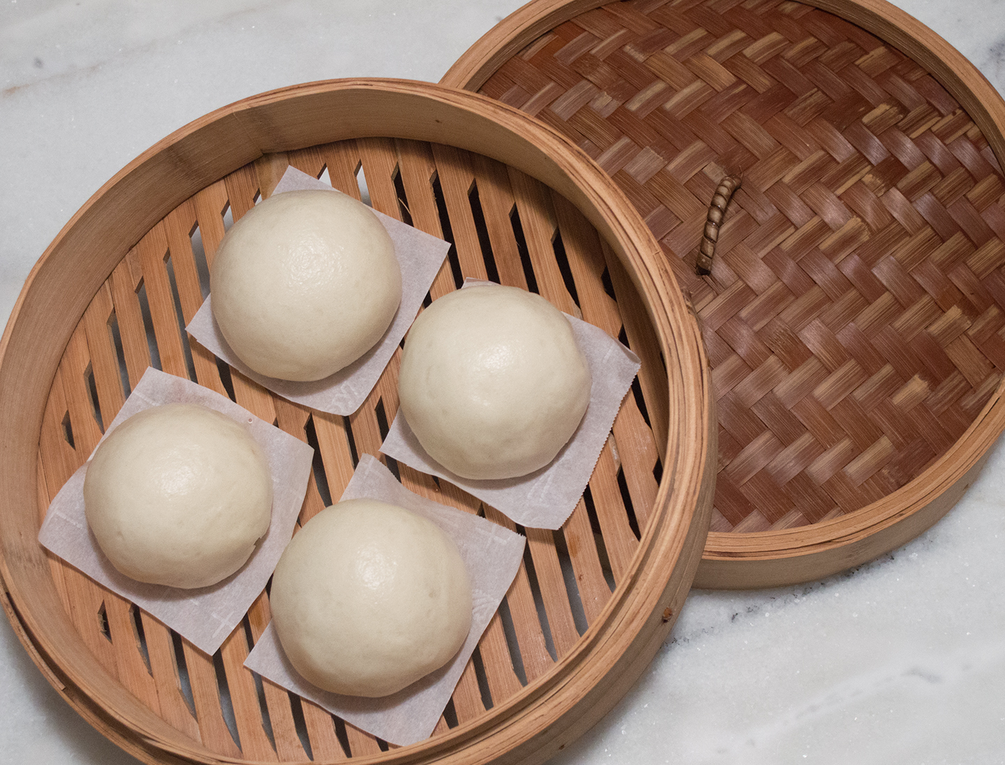 Dòushā Bāo (豆沙包) - Red Bean Steamed Buns