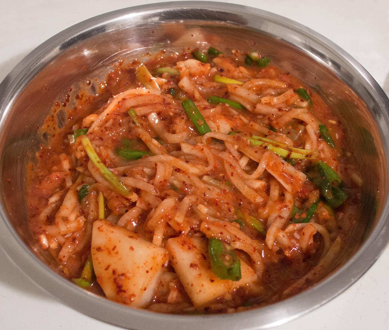 Whole Cabbage Kimchi - Filling