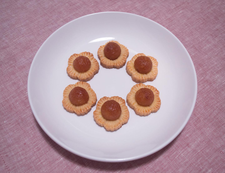 Fènglí Tà/Huánglí Tà (鳳梨撻/黄梨撻) - Pineapple Tarts