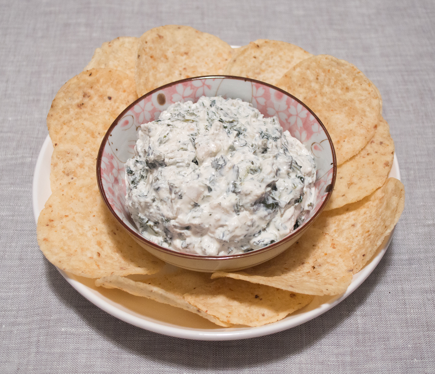 Spinach Dip without the Mix